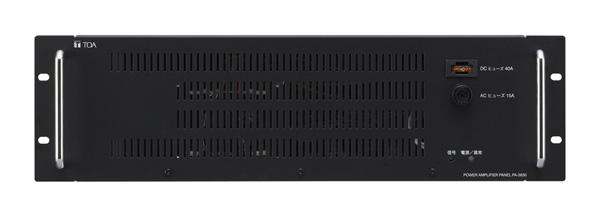 パワーアンプパネル 240W pa 2430 非常用放送設備 ラック型